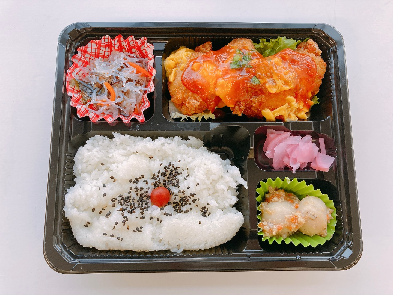 【A】鶏の唐揚げチリ玉ソース
